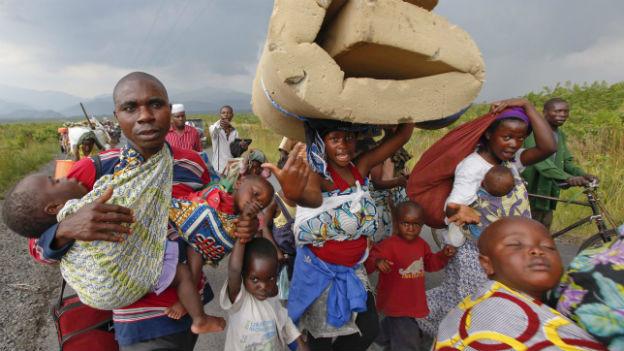 Hundertausende wurden in den letzten Jahren vertrieben.