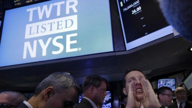 Investoren waren heiss auf Twitter-Aktien.
