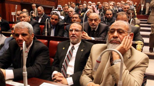Der ägyptische Verfassungrat.