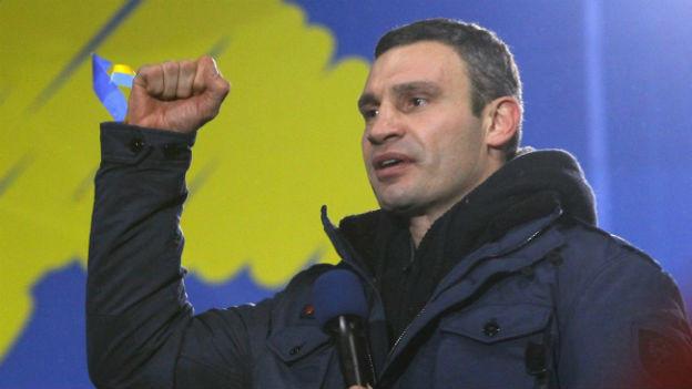 Vitali Klitschko ein führender Kopf der Opposition