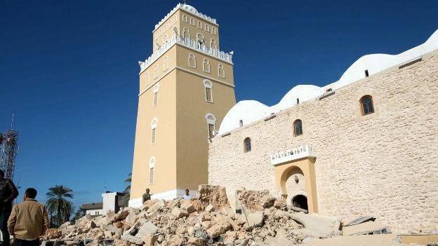 Anschläge gehören zur Tagesordnung in Libyen.