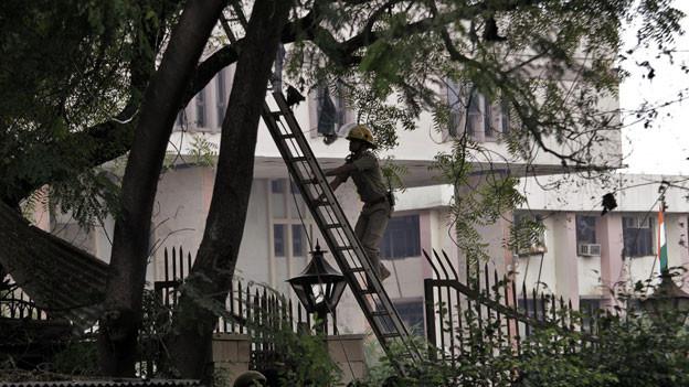 Höchstes Gericht in Dehli. Im September 2011 explodierte eine Briefbombe.