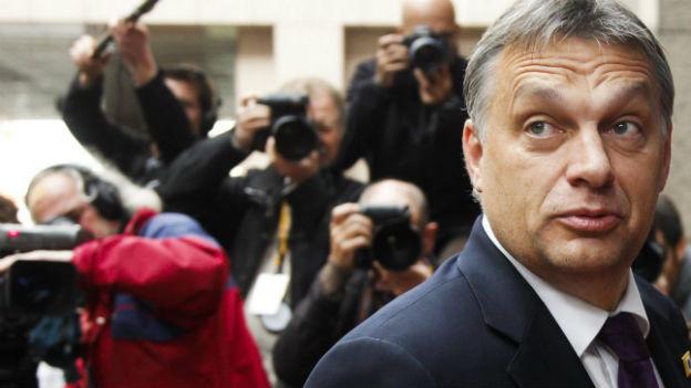 Hungermärsche in Ungarn - Premier Orban in der Kritik