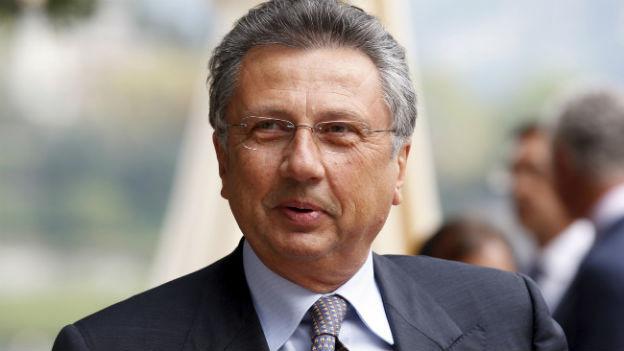 Giuseppe Orsi, Chef von Finmeccanica, wurde wegen Korruption verhaftet.