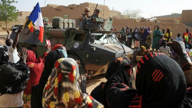 Französische Truppen in Mali