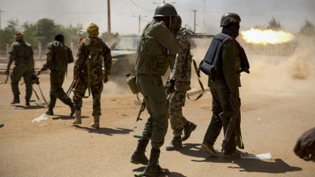 Kämpfe in der nord-malischen Stadt Gao
