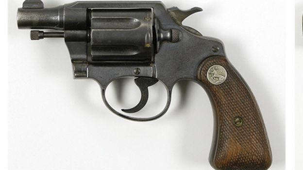 Der Colt von Bonnie (& Clyde)  Parker