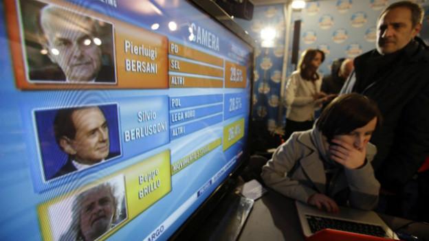 Wahlen in Italien: Stabilität ist nicht in Sicht.