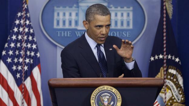 US-Präsident Obama am 1. März in Washington