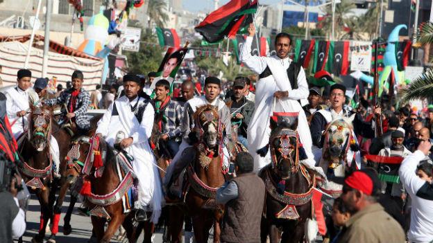 Feierlichkeiten in Tripolis zum zweiten Jahrestag des Endes von Muammar Gaddafi