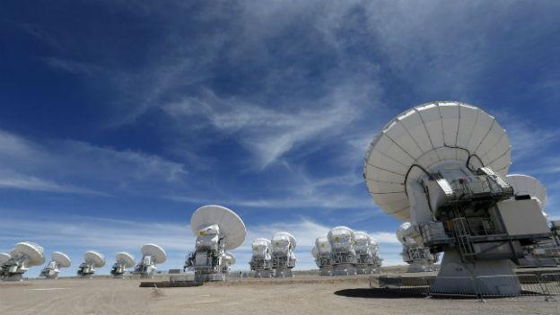 ALMA, Atacama Large Milimeter Array im Norden von Chile