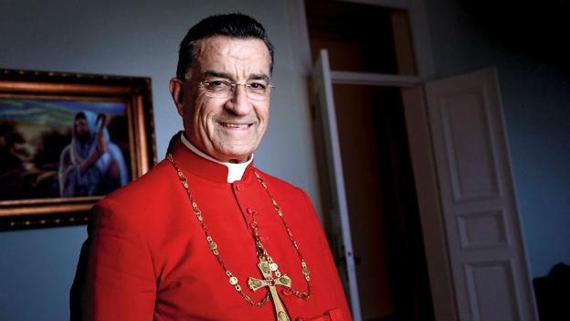 Kardinal Béchara Pierre Raï ist maronitischer Patriarch von Antiochien und des ganzen Orients