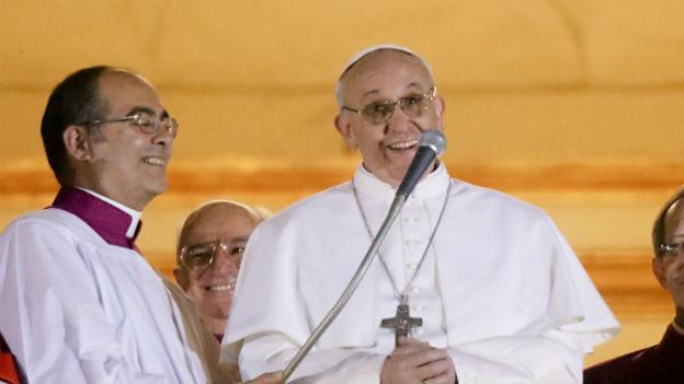 Papst Franziskus ist der erste Jesuit in dem Amt