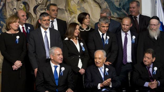 Israelische Regierung 2013