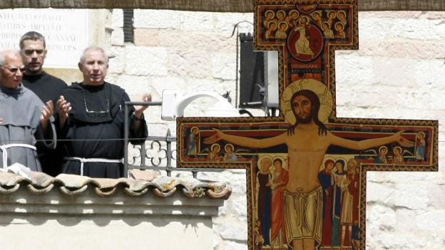 Messe in Assisi zu Ehren des Heiligen Franziskus