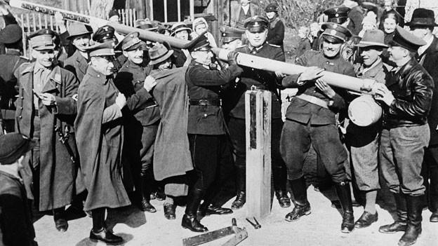 Nach dem Anschluss wurden die Grenzen zu Deutschland aufgehoben.