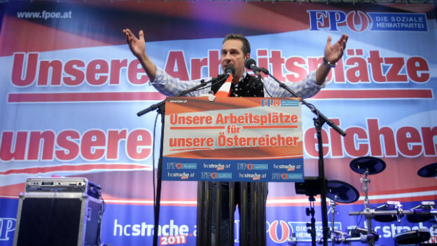 Heinz-Christian Strache kämpft um Unterstützung.
