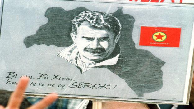 Oecalan: Symbolfigur im Kurdenkonflikt.