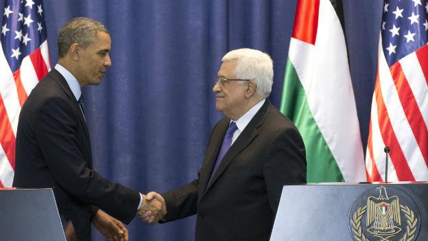 Obama zu Besuch bei Abbas in Ramallah