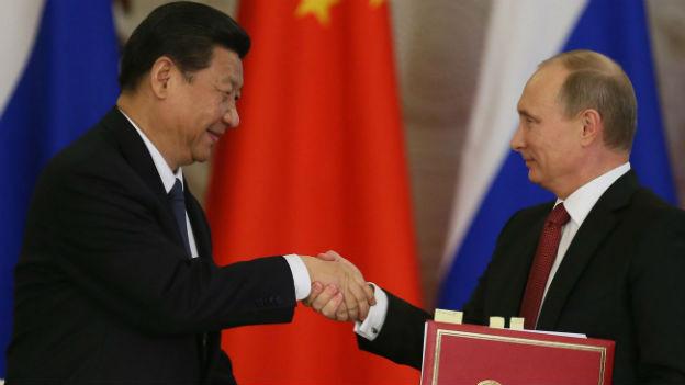 Xi Jinping auf Staatsbesuch bei Wladimir Putin.