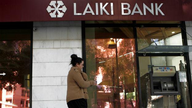 Die Laiki-Bank in Zypern wird aufgelöst