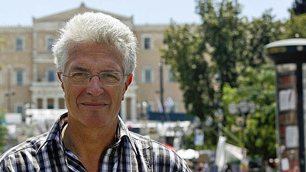 Werner van Gent in Athen.