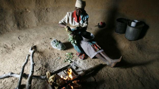 Armut in Simbabwe ist gross.