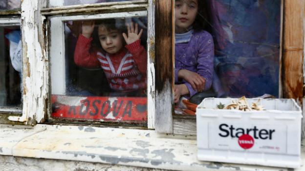 Gespaltene Republik: Etwa 88% der Kosovaren sind Albaner. Ca. 7% Serben.