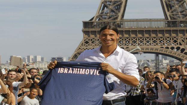 Verdient Millionen: PSG-Star Zlatan Ibrahimovic