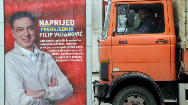 Wird Filip Vujanovic kraftvoll wiedergewählt am Sonntag?