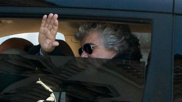 Bebbe Grillo bleibt stur - und erntet Kritik.