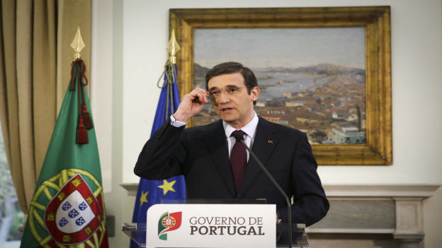 Portugals Regierungschef Pedro Passos Coelho.