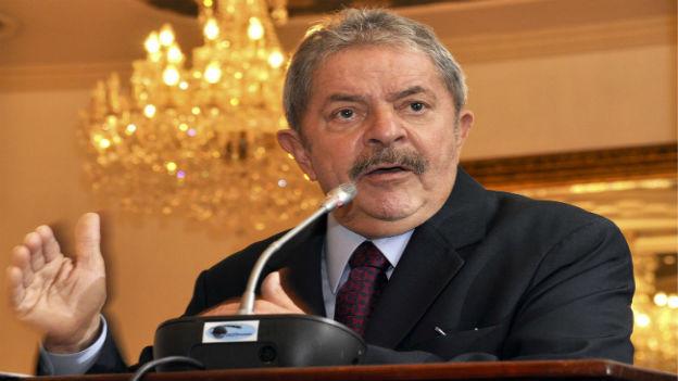 Brasiliens Ex-Präsident Lula da Silva soll Schmiergelder verteitl haben.