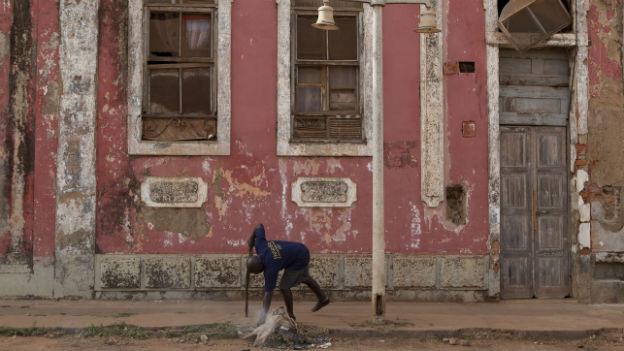 Guineau-Bissau ein Jahr nach dem Putsch in einer schwierigen Lage.