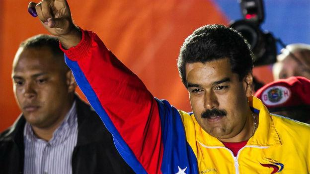 Tritt ein schweres Erbe an: Chavez-Nachfolger Nicolas Maduro.