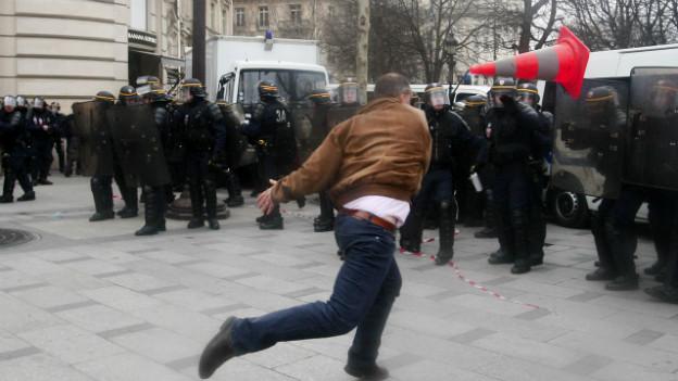 Proteste gegen die Homo-Ehe in Frankreich im März 2013.