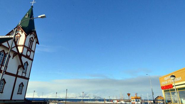 Hafen in Husavik (Nordisland)