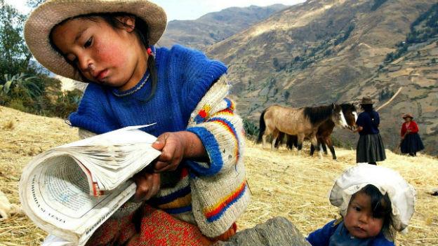 Vor allem die Landbevölkerung ist von grosser Armut bedroht.