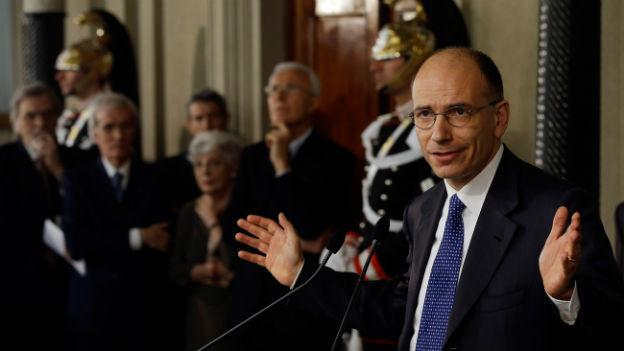 Enrico Letta soll eine neue Regierung zusammenstellen.