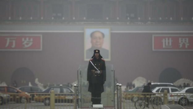 Die Umweltverschmutzung zeigt sich in China auch durch Smog in den Städten.