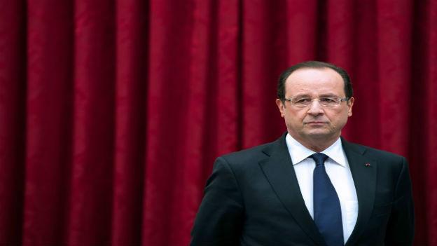 François Hollande hat nichts zu lachen.