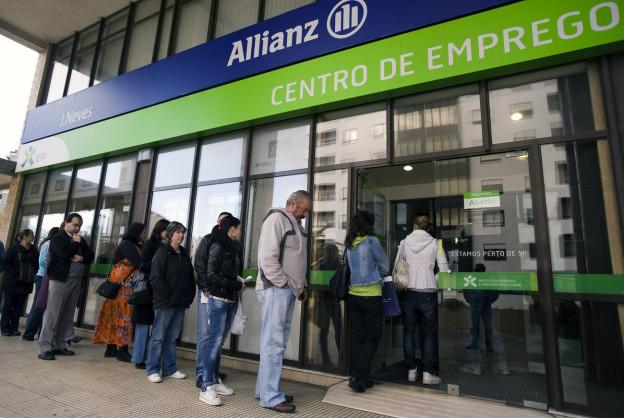 Die Arbeitslosigkeit in Portugal ist auf einem Rekordstand.