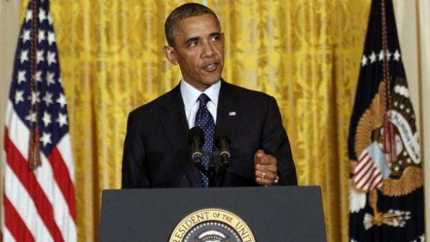 Obama unter Druck: der US-Präsident nimmt Stellung zum Handeln der IRS