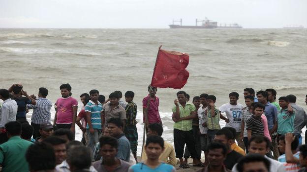 An der Küste von Bangladesh