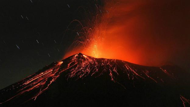 Versetzt die Bevölkerung in Puebla in Angst: der Popocatépetl.