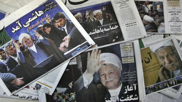 Ex-Präsident Rafsanjani.