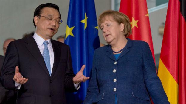 Haben einiges zu bereden: Chinas Ministerpräsident Li Keqiang und die deutsche Bundeskanzlerin .