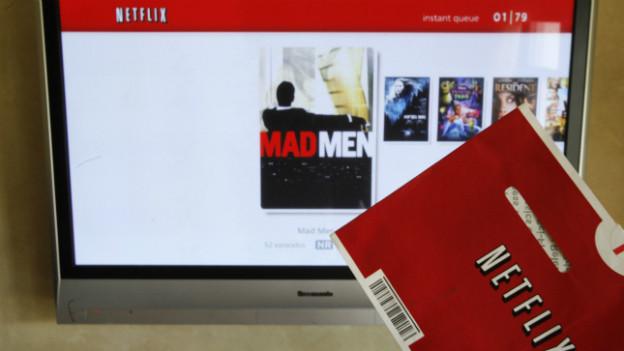 Online-Konkurrenz fürs Fernsehen in den USA: Netflix.