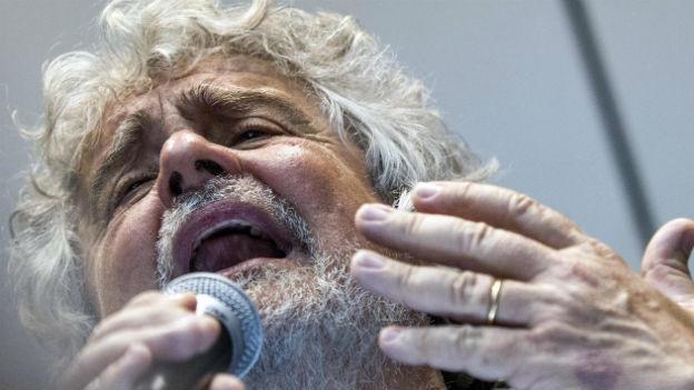 Beppe Grillo läuft es derzeit nicht rund.