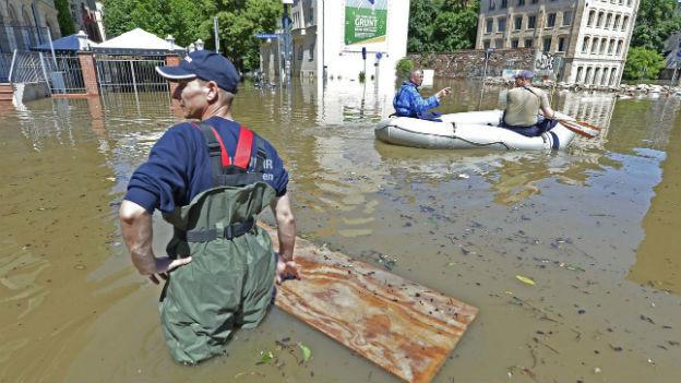 Hochwasser in Halle (Sachsen-Anhalt)